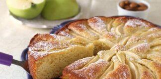 moelleux aux pommes et aux amandes