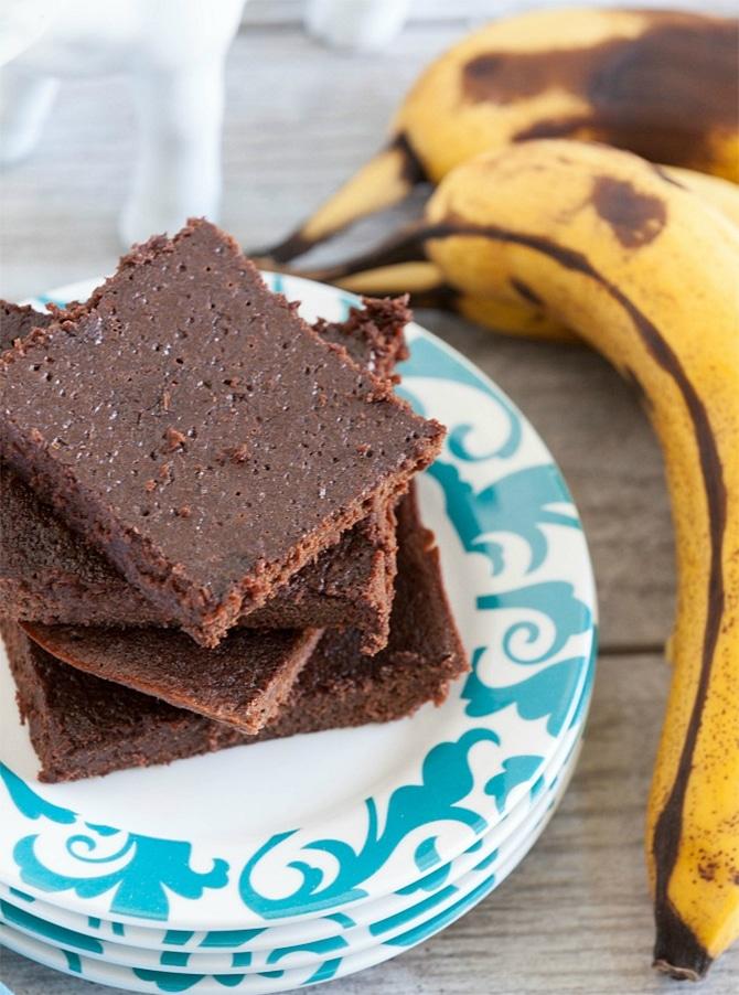 Brownies aux bananes et chocolat