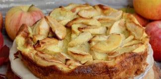 Clafoutis aux pommes et à la cannelle