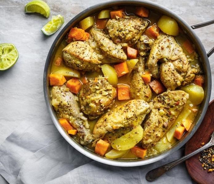 Colombo De Poulet Et Légumes Recette Ww