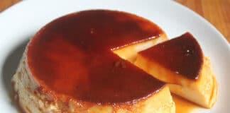 Crème caramel au yaourt