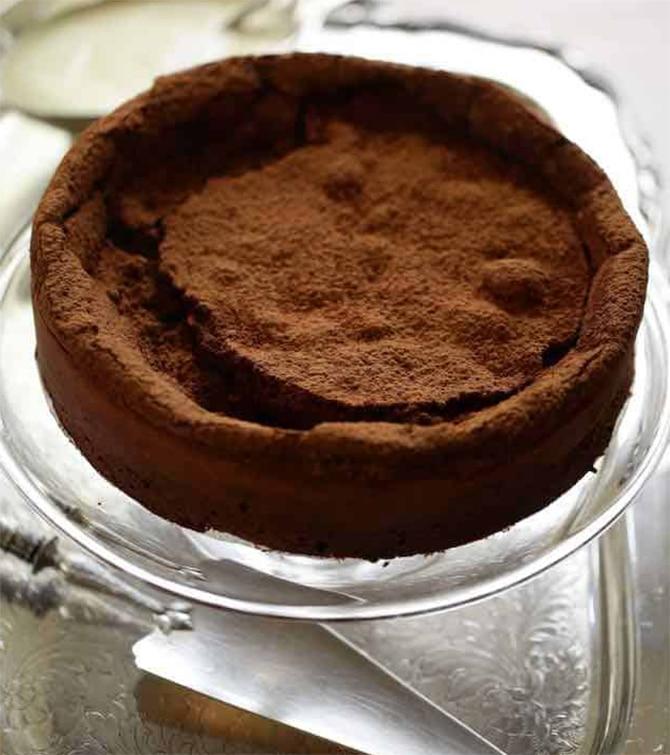 Gâteau au chocolat sans farine sans beurre - Recette WW