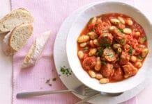 Haricots blancs chorizo et tomates au thermomix
