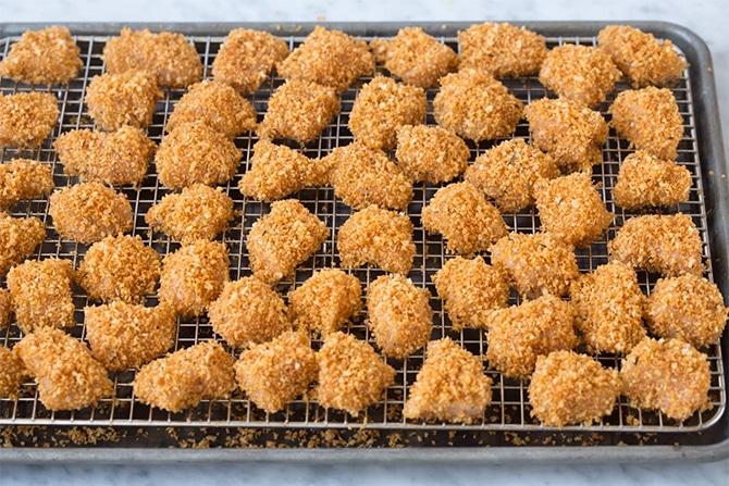 Nuggets de poulet aux épices