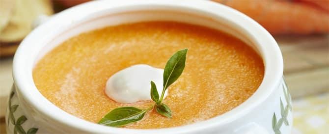 Potage aux carottes et pomme de terre au Thermomix
