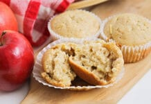 Recette ww des Muffins aux pommes