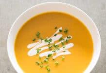 Soupe de légumes d'hiver au Thermomix