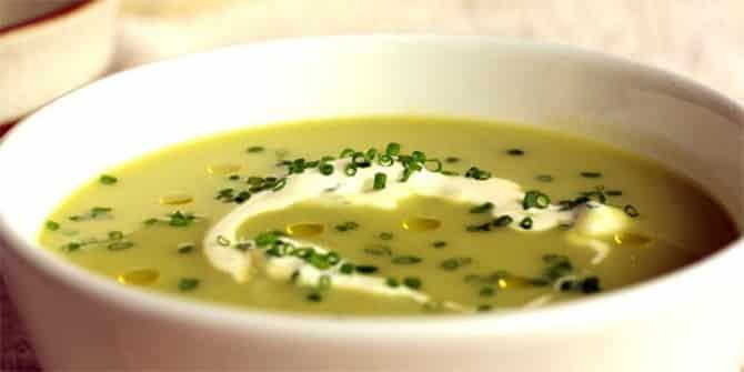 Soupe poireaux pommes de terre thermomix