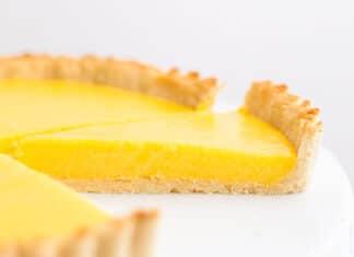 Tarte au citron au lait concentré