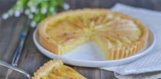 Tarte aux poires et citron