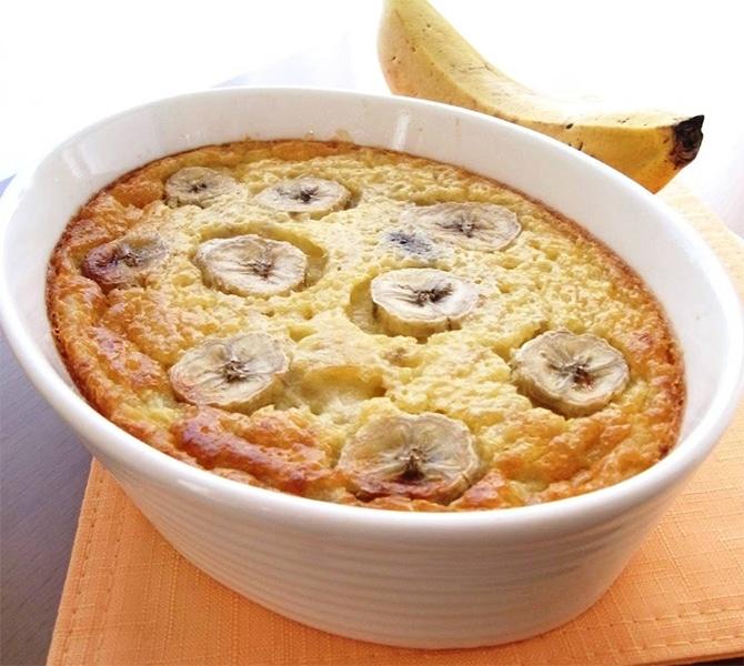 Clafoutis bananes et dattes