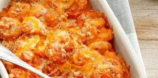 Gratin léger de carottes