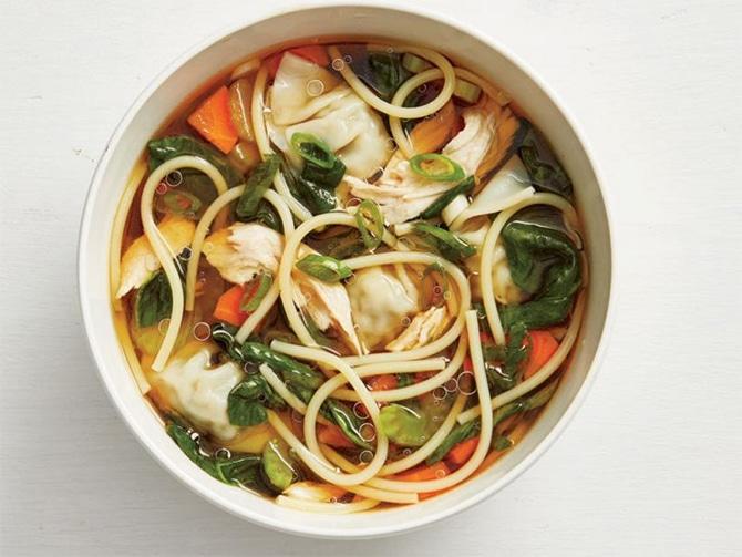 Soupe asiatique au Thermomix