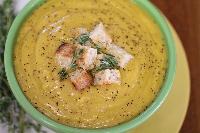 Soupe de légumes à la crème au Thermomix
