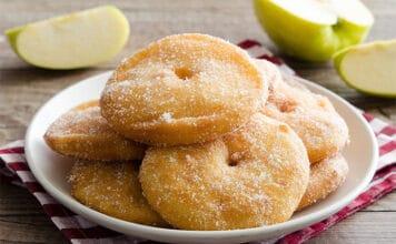 beignets aux pommes pour le carnaval