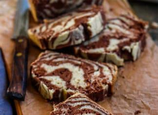 gâteau marbré au Cookeo