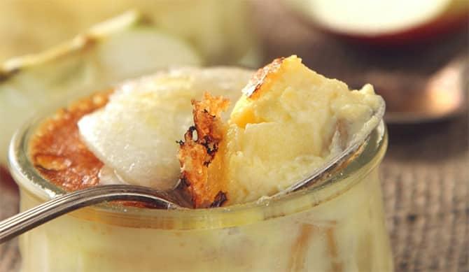 Crème fermière aux pommes et poires