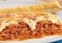 Lasagnes tomate et thon