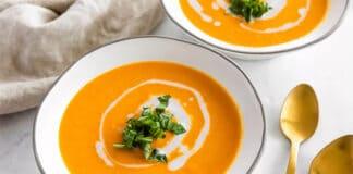 Soupe de carottes à la crème au Thermomix