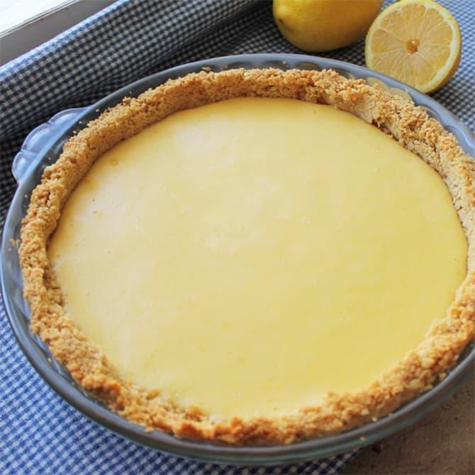 Tarte Au Citron Facile Recette Ww Dessert