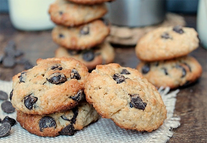 Mini cookies au yaourt