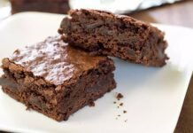 Brownies light au chocolat
