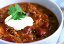 Chili con carne original au Thermomix