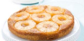 Gâteau à l'ananas et fromage blanc 0%