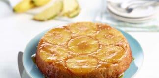 Gâteau à l'ananas et fromage frais 0%