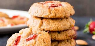 cookies au yaourt et fraises