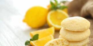 Biscuits légers au goût de citron
