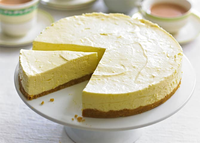 Cheesecake au citron sans cuisson
