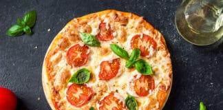 Pizza Margherita sans gluten