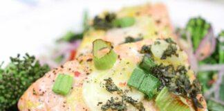 Saumon et légumes en papillote