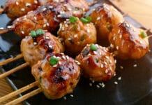 Boulettes de viande façon japonaise au Thermomix