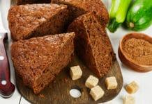 Cake de courgettes et chocolat noir