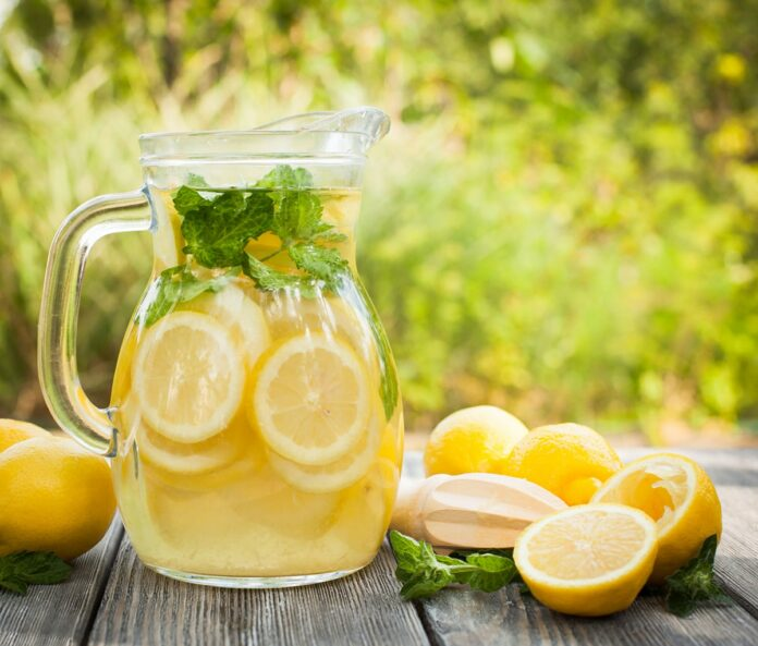 Citronnade facile au Thermomix