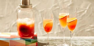 Cocktail Bellini au Thermomix