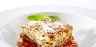 Lasagnes à la mozzarella et viande hachée