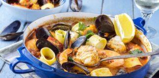 Marmite de fruits de mer