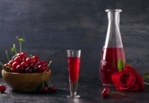 Cocktail vodka cerise au Thermomix