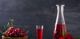 Cocktail vodka cerise au Thermomix