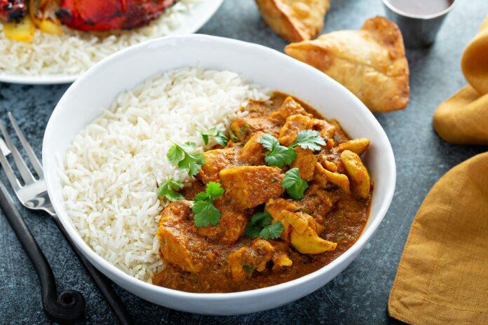 Curry de poulet et lait de coco au Thermomix