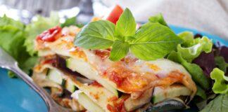 Lasagnes au thon courgette et aubergine