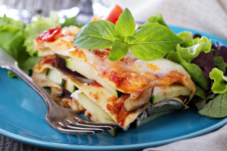 Lasagnes de courgette