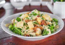 Salade césar à la sauce légère