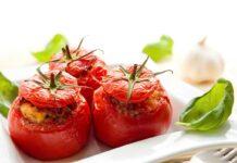 Tomates farcies au riz et thon
