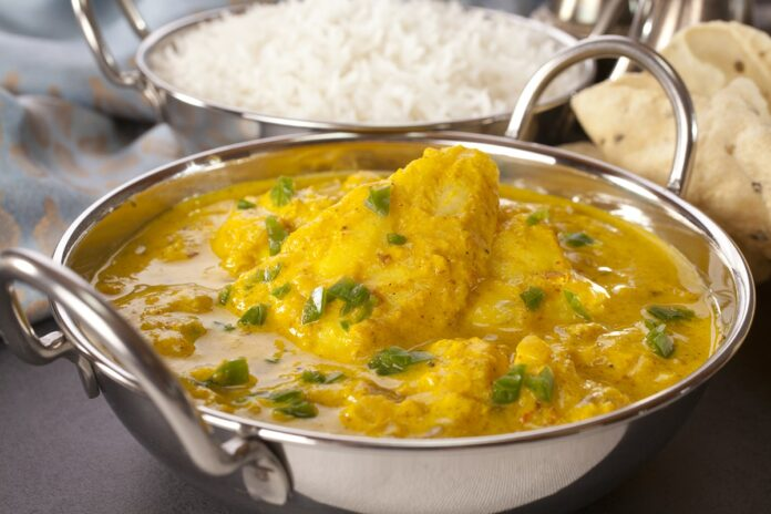Curry de poisson au Thermomix