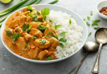 Filets de poulet au curry