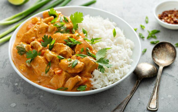 Filets de poulet au curry